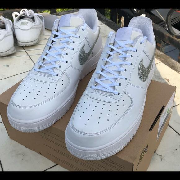 Nike Air Force 1's Size 14 Custom
